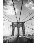 Galeria Flash Fototapeta FS0095 Brooklyn Bridge - New York (Pete Kerwood)