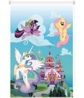 Roleta mini transparentna clever spring My Little Pony 1 - 72 x 215 cm