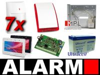 Alarm SATEL INTEGRA 32 GRAF. 7 x PIR, SP-4001
